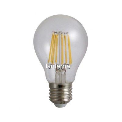 Bec Filament Vintage LED A60 Soclu E27 8W 220V 4000K