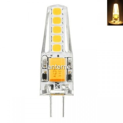 Bec LED 3W Soclu G4 12V 2700K Alb Cald Siliconat MNR2724