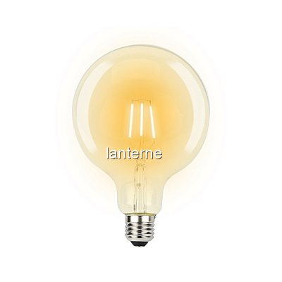 Bec LED Filament 6W 600LM Edison Vintage Alb Cald E27 G125