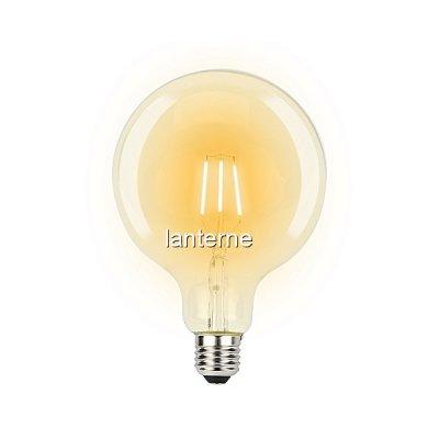 Bec LED Filament 8W 800LM Edison Vintage Alb Cald E27 G125