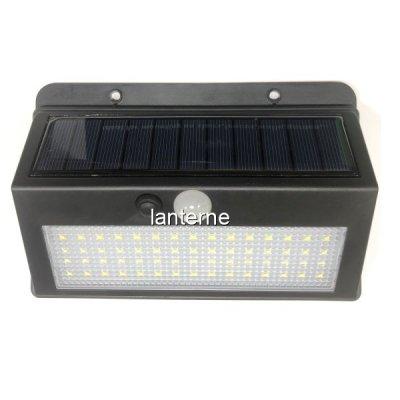 Lampa 60LED Incarcare Solara cu Senzori Miscare si Lumina, On/Off