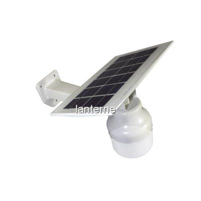 Lampa LED cu Panou Solar 10W cu Senzor Crepuscul si Suport 21x33cm
