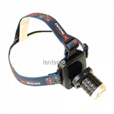 Lanterna Frontala LED 1W Zoom Incarcare Solara si USB 3 Faze MX121T6