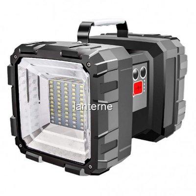 Lanterna LED 2 Capete cu Acumulator, USB, Semnalizare Urgente W845