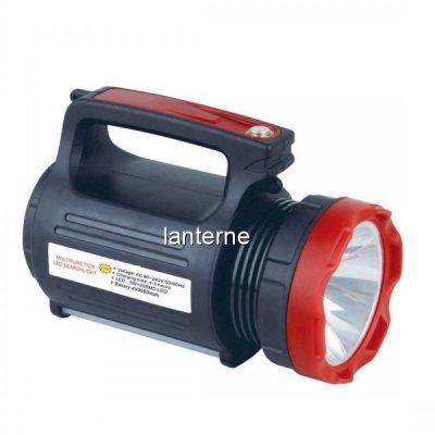 Lanterna LED 5W cu Acumulator, USB si Panou 20 LED-uri SMD YJ2895U