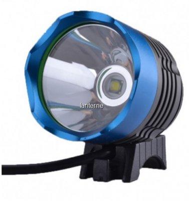 Lanterna LED 5W Frontala si de Bicicleta cu 4 Acumulatori 18650