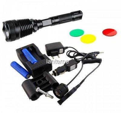Lanterna LED pentru Arma de Vanatoare Bailong BLQ2800T6