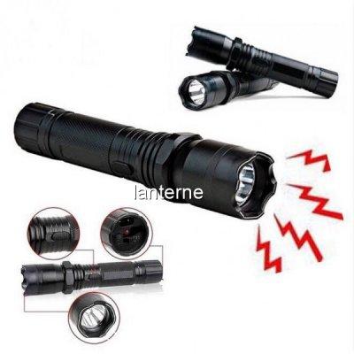Lanterna Reincarcabila cu LED 1W si Electrosoc ZZ1101