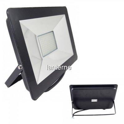 Proiector LED 50W 100LEDuri SMD Alb Rece 6400K IP65 220V