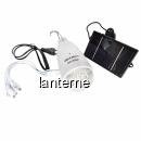 Bec 12LED Acumulator si  Slot USB, Incarcare Solara si 220V GD5022