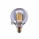 Bec cu Filament Carbon 40W 120LM Edison Vintage Alb Cald E27 GELUX