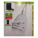 Bec Economic Solar cu USB si 5 LEDuri SMD GDLIGHT GD5019