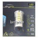 Bec LED SMD 4W Bulb Alb Rece 6500K G4 220V Skyline SL1387