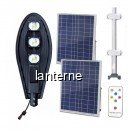 Corp Iluminat 150W 3xCOBLED 50W Solar Senzor, Suport, Telecomanda