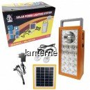Kit Solar Lampa 1+15LED SMD, USB, 2 Becuri, 4V 2.5Ah BB9118