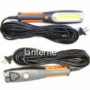 Lampa Service Auto LED COB, Magnet, Agatatoare, Cablu 220V 10m