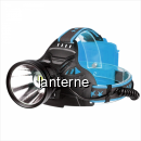 Lanterna Frontala LED 10W Indicator 3x18650 la USB P70 W644