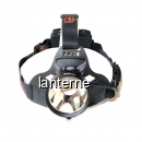 Lanterna Frontala LED 3W 3x18650 Alimentare USB W633 MXW633P50