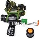 Lanterna Frontala Zoom LED CREEE Acumulator 14505 HCM 3 Faze