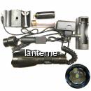 Lanterna LED 1Faza Zoom Suport Arma Vanatoare 18650 ZSHQ1891T6