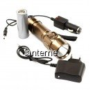 Lanterna LED 3W Small Sun ZYR812 12V 220V cu Acumulator 26650