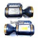 Lanterna LED Alb, Rosu Urgente si COB Acumulator 10W la USB T925B