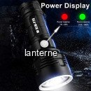 Lanterna LED Profesionala 10W Incarcare USB Acumulator 26650 XLMP70