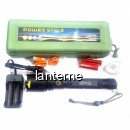 Lanterna LED Profesionala Zoom 10W USB220V Urgente 2x18650 7026MMCP120