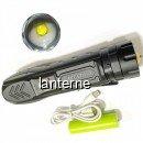 Lanterna LED Profesionala Zoom 5W la USB 5Faze 1x18650 MCCP711