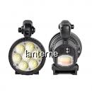 Lanterna Profesionala LED 40W cu Acumulator la USB Semnalizare W866A
