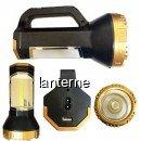 Lanterna Profesionala LED 5W + COB LED, slot USB, 220V T50