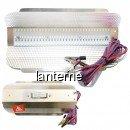 Proiector 100Led SMD 50W cu Reflector Aluminiu, Cablu Clesti 12V CaiCai