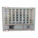 Proiector 100LED T019 50W IP65 Alb Rece 220V WT