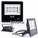 Proiector Slim LED SMD 20W Alb Rece 12V Clesti IP66 P57301220