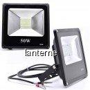 Proiector Slim LED SMD 50W Alb Rece 12V Clesti IP66 P57301250